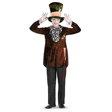 Mad Hatter Costume - Mens