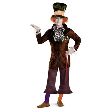 Mad Hatter Halloween Costume - Mens