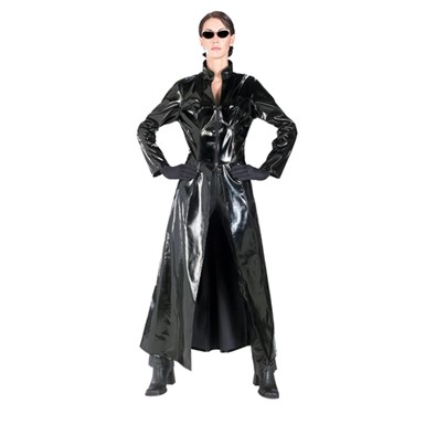 Matrix 2 Trinity Adult Womens Costume 12