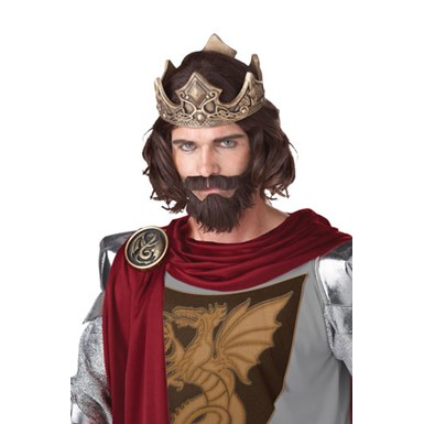 Medieval King Wig and Beard