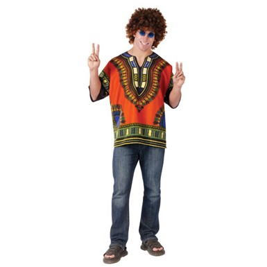 Men's African Shirt International Halloween Costume