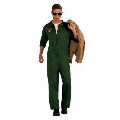 Mens Air Force Aviator Jumpsuit Costume Size Standard