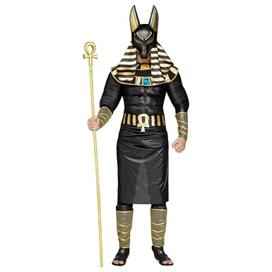 Mens Anubis Egyptian Halloween Costume