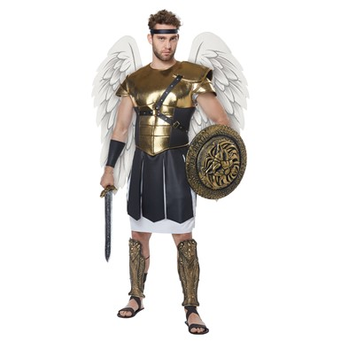 Mens Archangel Warrior Biblical Costume