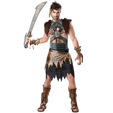Mens Barbarian Warrior Sexy Halloween Costume