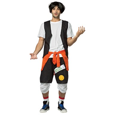Mens Bill & Ted's Excellent Adventure Ted Logan Costume