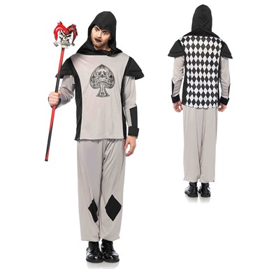 Mens Black Card Guard Alice in Wonderland Costume