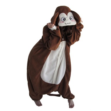Mens Brown Monkey Costume