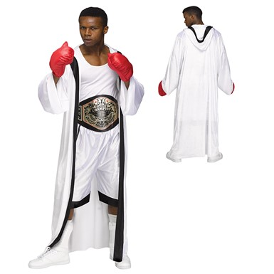 Mens Champ Ali Boxer Costume