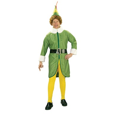 Mens Christmas Elf Costume - Buddy the Elf