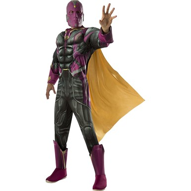 Mens Civil War Deluxe Vision Halloween Costume