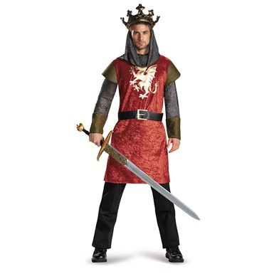 Mens Classic King Halloween Costume