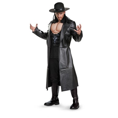 Mens Classic Muscle Undertaker Costume size 42-46 XL
