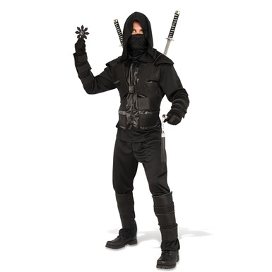 Mens Dark Ninja Halloween Costume
