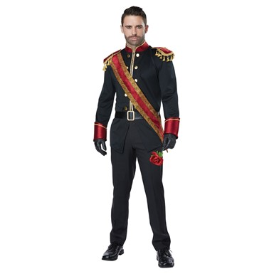 Mens Dark Prince Royal Halloween Costume