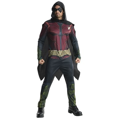 Mens DC Robin Halloween Costume