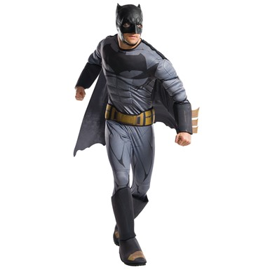 Mens Deluxe Batman Justice League Halloween Costume