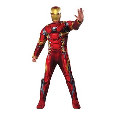 Mens Deluxe Iron Man Costume – Civil War