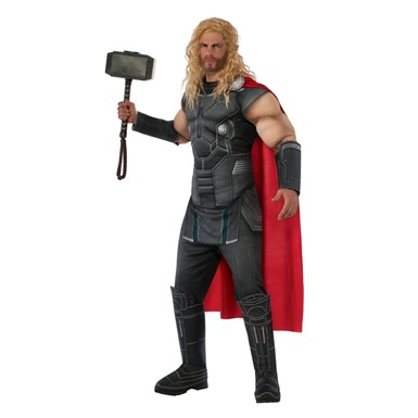 Mens Deluxe Muscle Chest Thor Avenger Costume