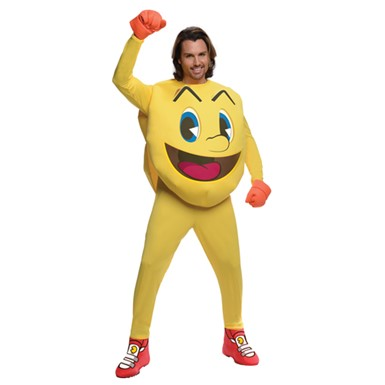 Mens Deluxe Pac-Man Costume