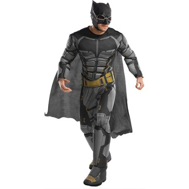 Mens Deluxe Tactical Batman Justice League Costume