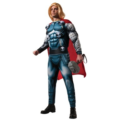 Mens Deluxe Thor Halloween Costume