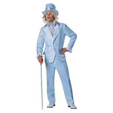 Mens Dumb And Dumber Harry Blue Tuxedo Plus Size Costume