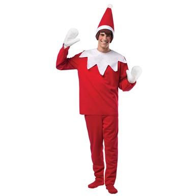 Mens Elf On The Shelf Costume