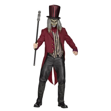 Mens Freak Show Ringmaster Halloween Costume