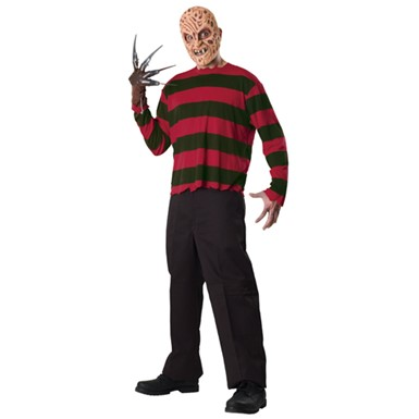 Men's Freddy Krueger Costume - Nightmare on Elm Street