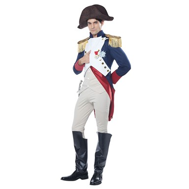 Mens French Emperor Napoleon Halloween Costume