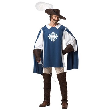 Mens French Musketeer Costume