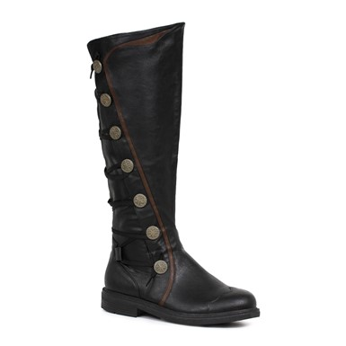 Mens Fresco Knee High Boots – Black