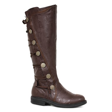 Mens Fresco Knee High Boots – Brown