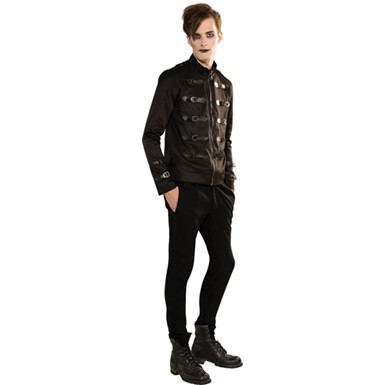Mens Gothic Short Jacket Halloween Costume