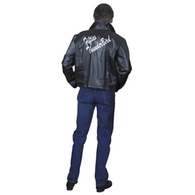 Mens Grease Leather Adult Jacket