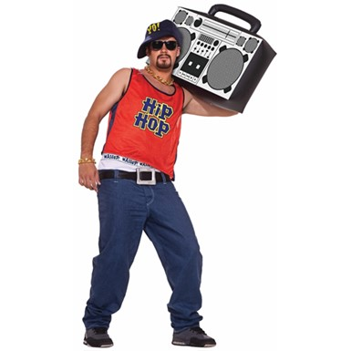Mens Hip Hop Fashion Halloween Costume