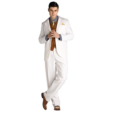 Mens Jay Gatsby Suit Halloween Costume