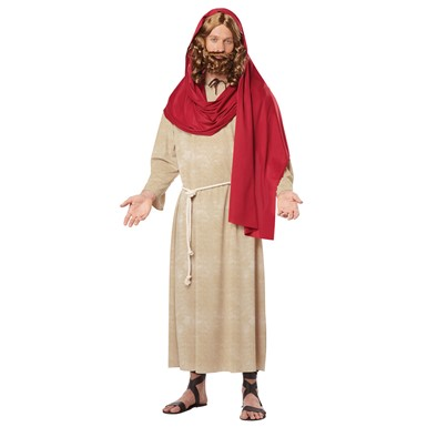 Mens Jesus of Nazareth Halloween Costume
