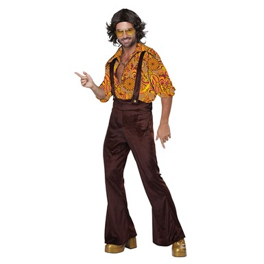 Mens Jive Talkin' Disco Dude Halloween Costume