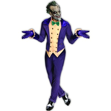 Mens Joker Batman Dark Knight Halloween Costume