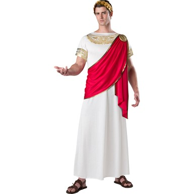 Mens Julius Caesar Roman Halloween Costume