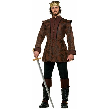 Mens Kings Costume Coat