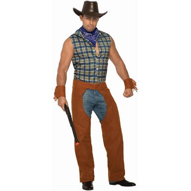 Mens Lone Star Stud Cowboy Halloween Costume
