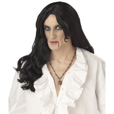 Mens Long Hair Wigs - Vampire