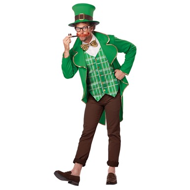 Mens Lucky Leprechaun Halloween Costume