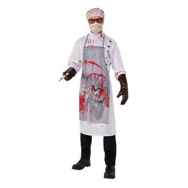 Mens Mad Scientist Horror Halloween Costume