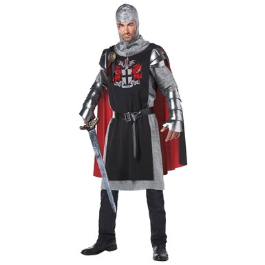 Mens Medieval Knight Halloween Costume