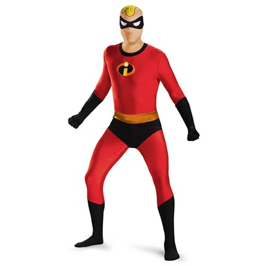 Mens Mr. Incredible Skinovation Bodysuit Costume