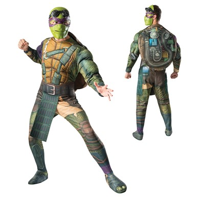 Mens Ninja Turtles Donatello Muscle Costume